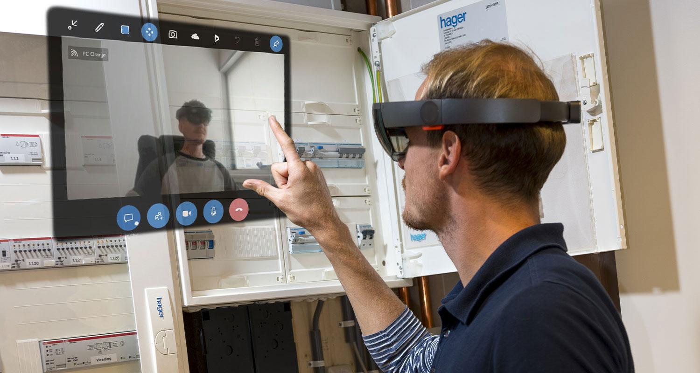 Augmented Reality en Mixed Reality oplossingen (Service Onderhoud)