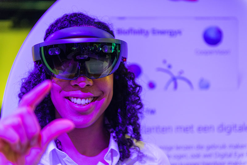 Web-AR (case detail coopervision ar producties amsterdam)