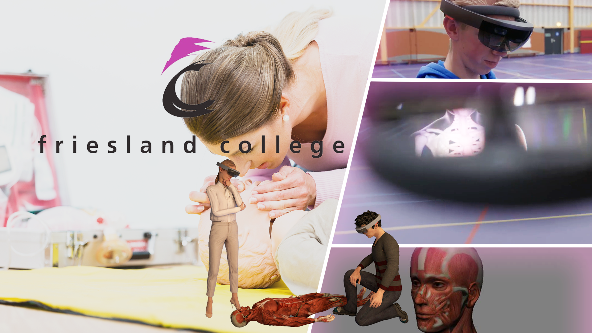 augmented- en mixed reality campagnes (Friesland College high)
