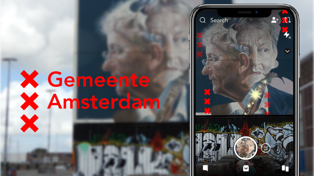 augmented- en mixed reality campagnes (Gemeente Amsterdam)
