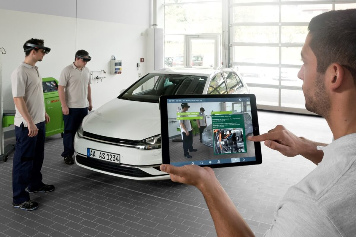 augmented- en mixed reality campagnes (automotive)